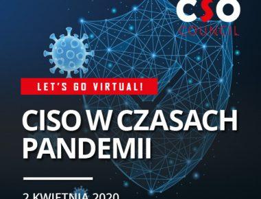 CSO Council – Let's go virtual!